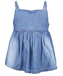 My Lil Berry Singlet Sunny Day Denim Top - Blue - 12 To 18 Months