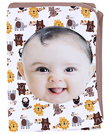 Ben Benny One Ply Baby Wrapper - Animal Print