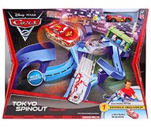Mattel Disney Pixar Cars 2 Tokyo Spinout Track Set