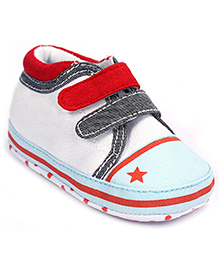 Cute Walk Baby Booties - Dual Velcro Strap