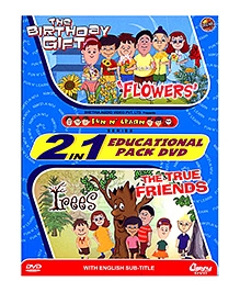Gipsy Video 2 in 1 The Birthday Gift And The True Friends DVD - English