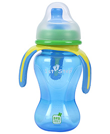 1st Step Soft Spout Cup With Handle Blue - 270 ml