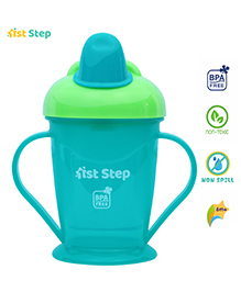 1st Step Spill Proof Cup With Handle Blue - 180 Ml - 6 Months+