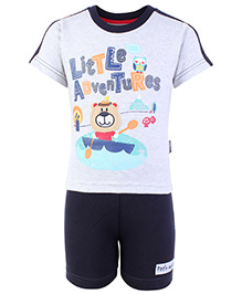 Child World Half Sleeves T-Shirt And Shorts Set