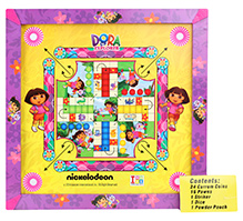 Dora The Explorer 3 in 1 Carrom Board