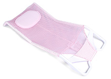 Fab N Funky Comfort Bather With Head Support - Pink