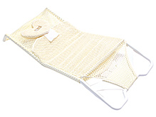 Fab N Funky Comfort Bather With Heart Shape Head Support - Yellow