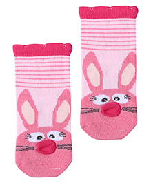 Mustang Socks Pink - Rabbit Print