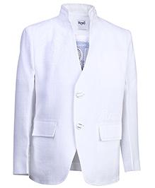 Blazo T-Shirt With Blazer - White