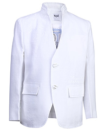 Blazo T-Shirt With Blazer - White