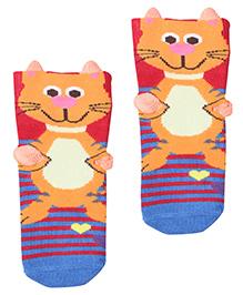 Mustang Socks - Cat Print