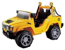 Marktech - Humvee Double Seater Jeep Stylish Yellow