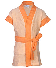 Babyhug Bath Robe - Tie knot Closure
