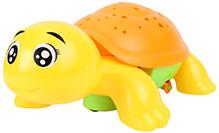 Kumar Toys Starry Sky Tortoise Projector - Yellow And Orange