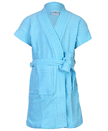 Babyhug Bath Robe - Tie knot Closure
