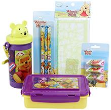 Winnie The Pooh School Kit - Pack Of 5