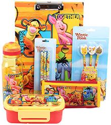 Disney Winnie The Pooh School Kit - Set of 7