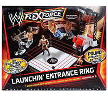 WWE Flexforce Launching Entrance Ring Play Set
