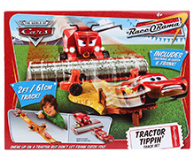 Disney Pixar Cars Tractor Tippin Track Set