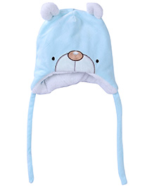 Babyhug Cap With Knot - Bear Design