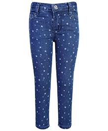 Fox Full Length Jeans - Star Print