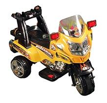 Sunbaby Super Cop Bike - Yellow