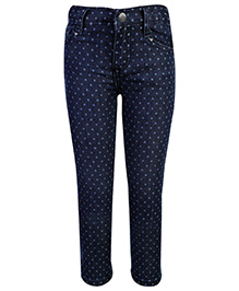Fox Full Length Jeans - Dotted Print