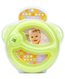 Mee Mee Stay Warm Plate - Green