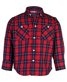 Gini & Jony Full Sleeves Shirt - Check Pattern