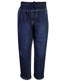 Gini & Jony Jeans Denim Blue - Elasticated Waist