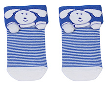 Mustang Ankle Length Socks - Rabbit Print