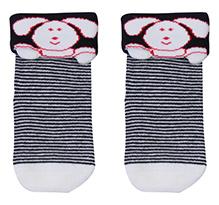 Mustang Ankle Length Socks - Rabbit Print