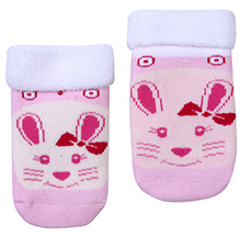 Mustang Ankle Length Socks - Kitty Print