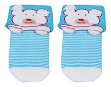 Mustang Ankle Length Socks - Bear Print