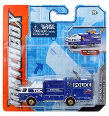 Matchbox E-One Mobile Command Centre Police Van