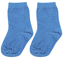Mustang Solid Colour Socks - Royal Blue