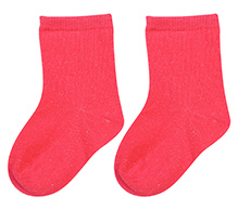 Mustang Solid Colour Socks - Fuchsia