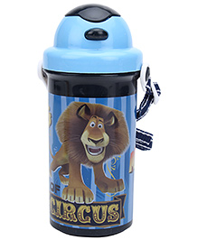Madagascar Bottle With Swivel Lid Blue - 400 Ml - Capacity 400 Ml