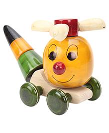 Dovetail Hopper Chopper Wooden Toy - Multicolour