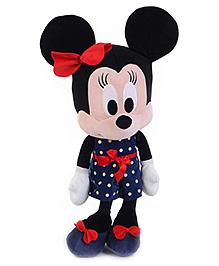 Disney Soft Toy Minnie Navy Tea Derss - Navy