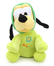 Disney Soft Toy Pluto Playtime Romper - Green