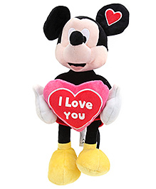 Disney Soft Toy Mickey With Heart