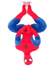 Disney Soft Toy Spiderman - Red And Blue