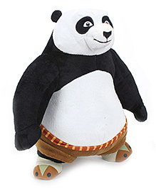 Kung Fu Panda Soft Toy - Black And White