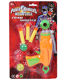 Power Ranger Foam Shooter - Orange
