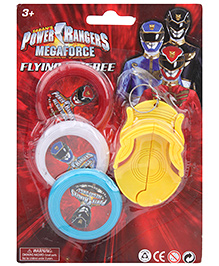 Power Rangers Flying Frisbee - 3 Pieces
