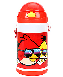 Angry Birds Water Bottle Red - 480 Ml - Capacity 480 Ml
