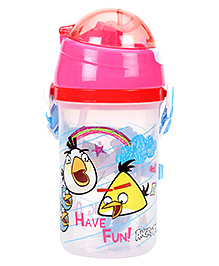 Angry Birds Water Bottle Multi Colour - 500 Ml - Capacity 500 Ml