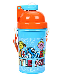 Mr Men & Little Miss Water Bottle - 500 ML - Bottle 7 X 7 X 11 Cm