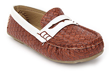 Sweet Year Slip On Loafers - Coffee
